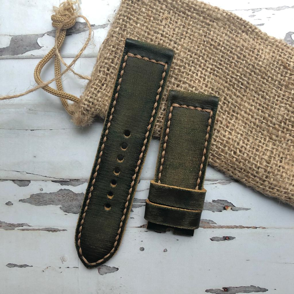 porteur-straps-crumpled-green-strapsonly